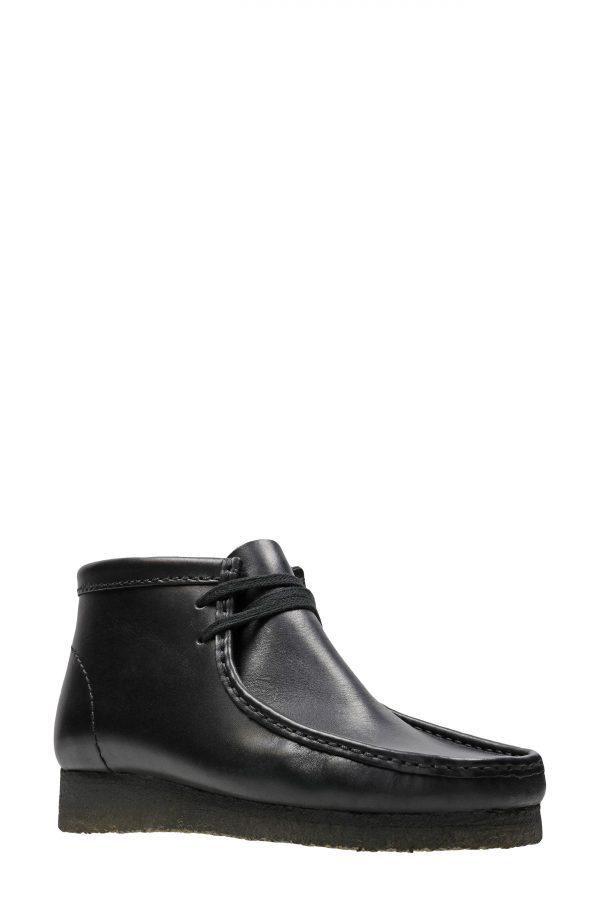 Men's Clarks Wallabee Chukka Boot, Size 11 M - Black