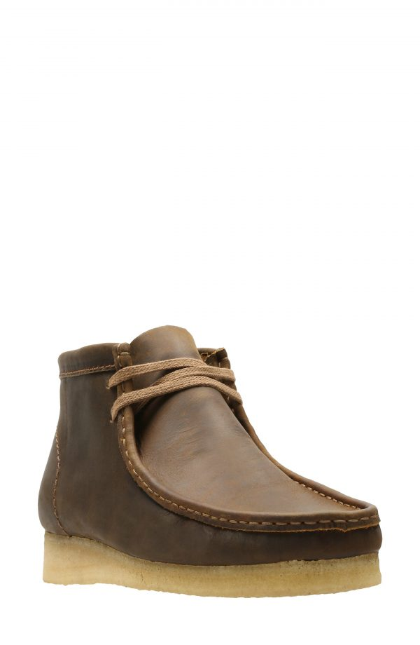Men's Clarks Wallabee Chukka Boot, Size 9 M - Brown