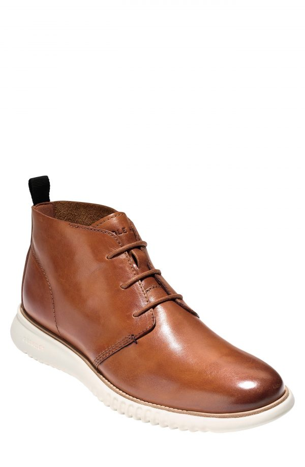 Men's Cole Haan 2.zerogrand Chukka Boot, Size 12 M - Brown
