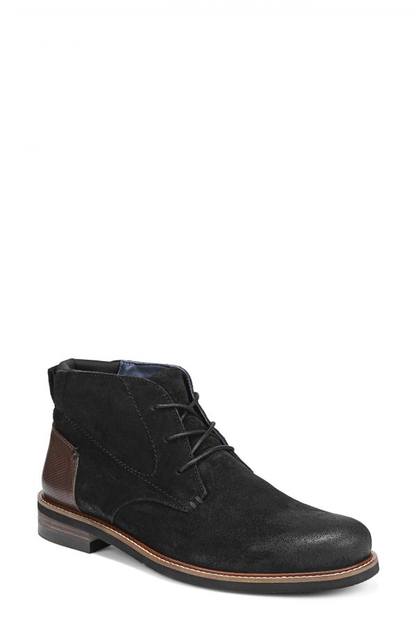 Men's Dr. Scholl's Weekly Chukka Boot, Size 8 M - Black