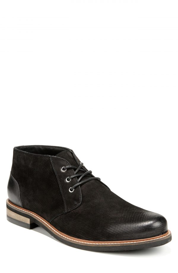 Men's Dr. Scholl's Willing Chukka Boot, Size 11.5 M - Black