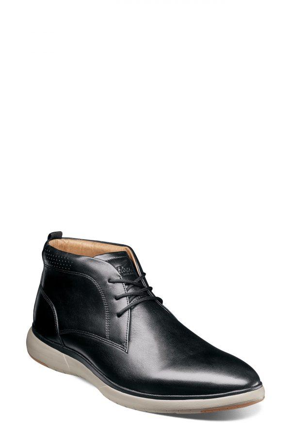 Men's Florsheim Flair Chukka Boot, Size 8.5 D - Black