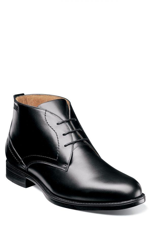 Men's Florsheim Midtown Waterproof Chukka Boot, Size 10.5 D - Black