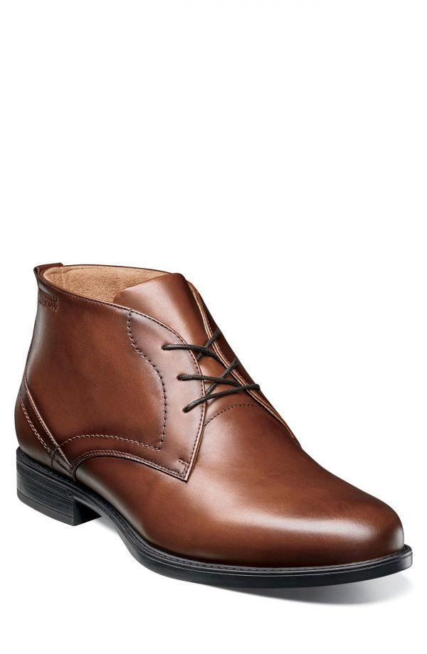 Men's Florsheim Midtown Waterproof Chukka Boot, Size 8.5 D - Brown