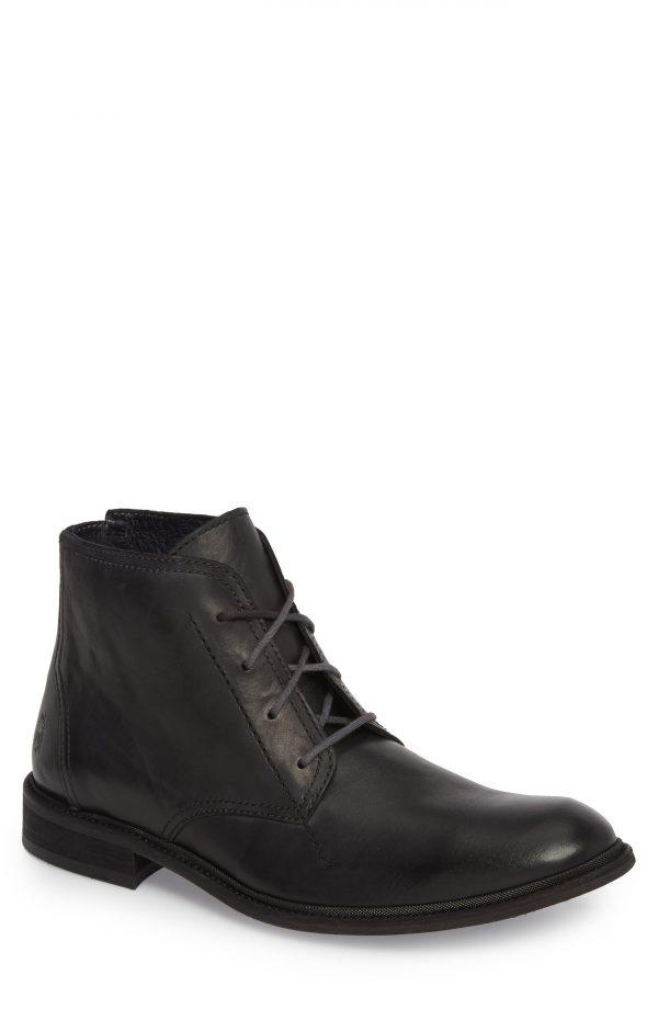 Men's Fly London Hobi Plain Toe Chukka Boot, Size 9US - Black