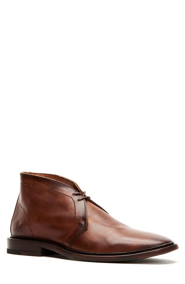 Men's Frye Paul Chukka Boot, Size 8 M - Brown
