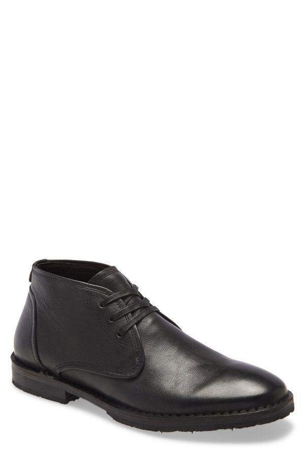 Men's John Varvatos Star Usa Portland Chukka Boot, Size 12 M - Black