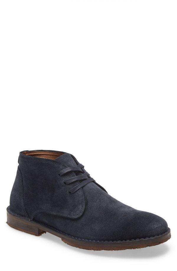 Men's John Varvatos Star Usa Portland Chukka Boot, Size 12 M - Blue