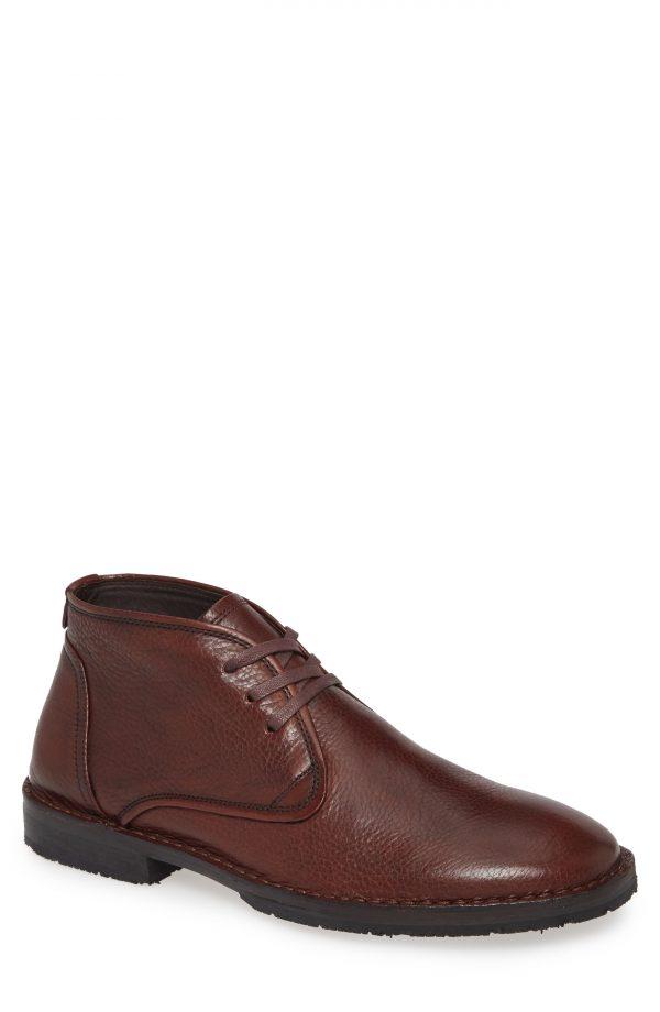 Men's John Varvatos Star Usa Portland Chukka Boot, Size 9 M - Brown