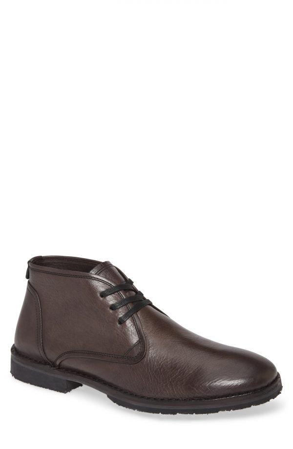 Men's John Varvatos Star Usa Portland Chukka Boot, Size 9.5 M - Grey