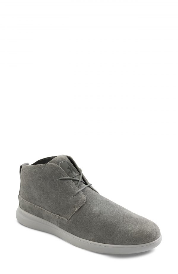Men's Johnnie-O The Chill Water Resistant Chukka Boot, Size 8 M - Grey