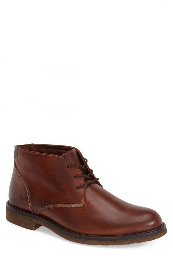 Men's Johnston & Murphy 'Copeland' Suede Chukka Boot, Size 8.5 M - Brown