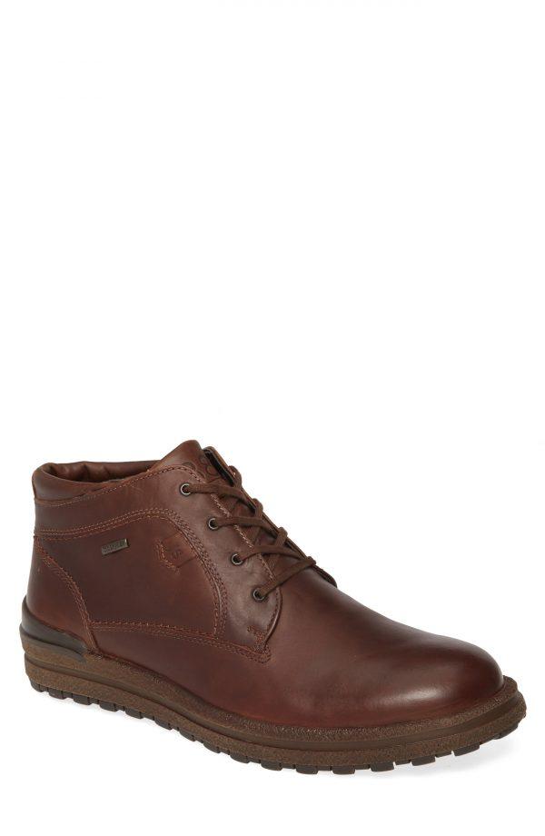 Men's Josef Seibel Emil 59 Waterproof Chukka Boot, Size 7-7.5US - Brown