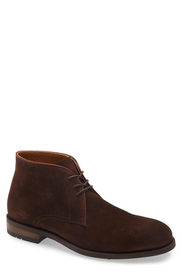 Men's Magnanni Kaleo Waterproof Chukka Boot, Size 10.5 M - Brown