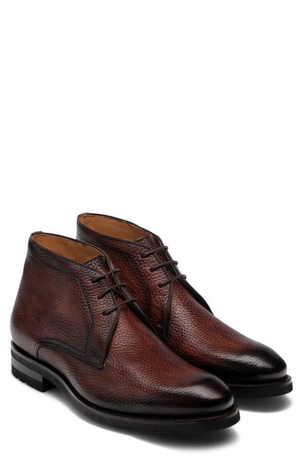Men's Magnanni Malone Chukka Boot, Size 11 M - Brown