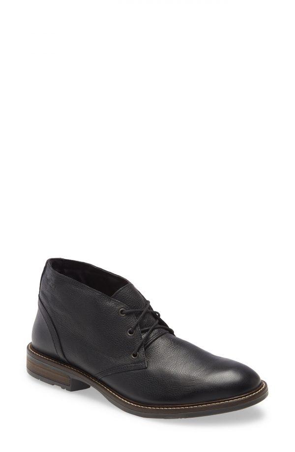 Men's Naot Pilot Chukka Boot, Size 8-8.5US - Black