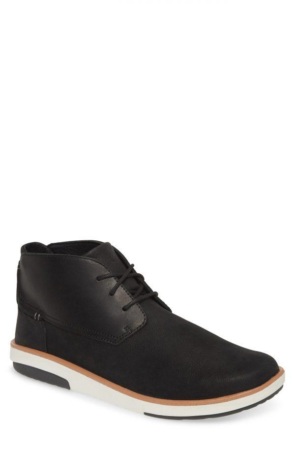 Men's Olukai Kalia Puki Chukka Boot, Size 8 M - Black