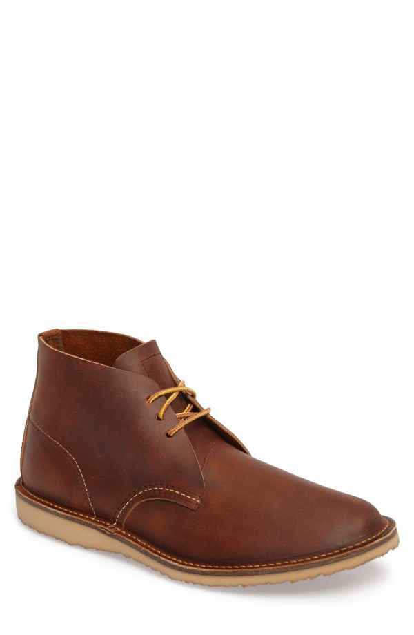 Men's Red Wing Chukka Boot, Size 11 M - Brown
