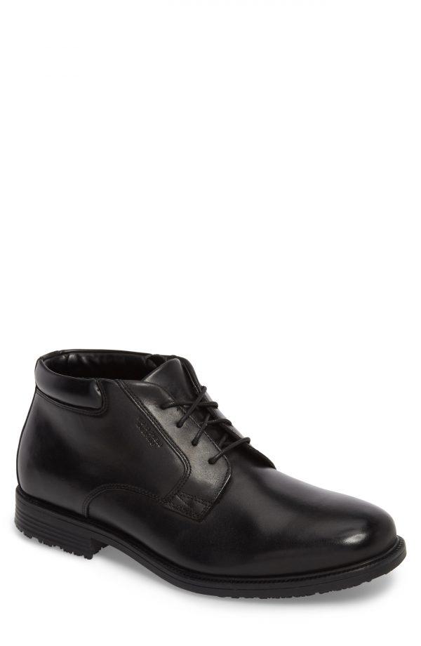 Men's Rockport 'Essential Details' Chukka Boot, Size 8.5 M - Black