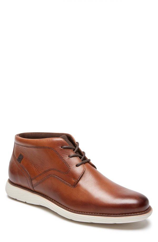 Men's Rockport Kessler Chukka Boot, Size 12 M - Brown