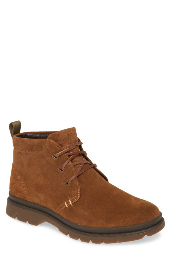 Men's Sperry Watertown Waterproof Chukka Boot, Size 7 M - Brown