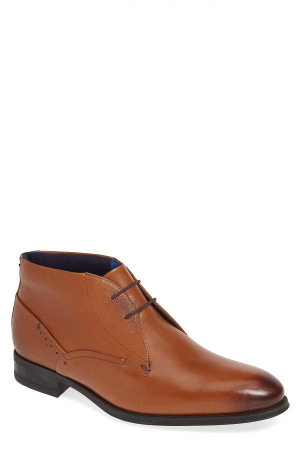 Men's Ted Baker London Chemna Chukka Boot, Size 10.5 M - Brown