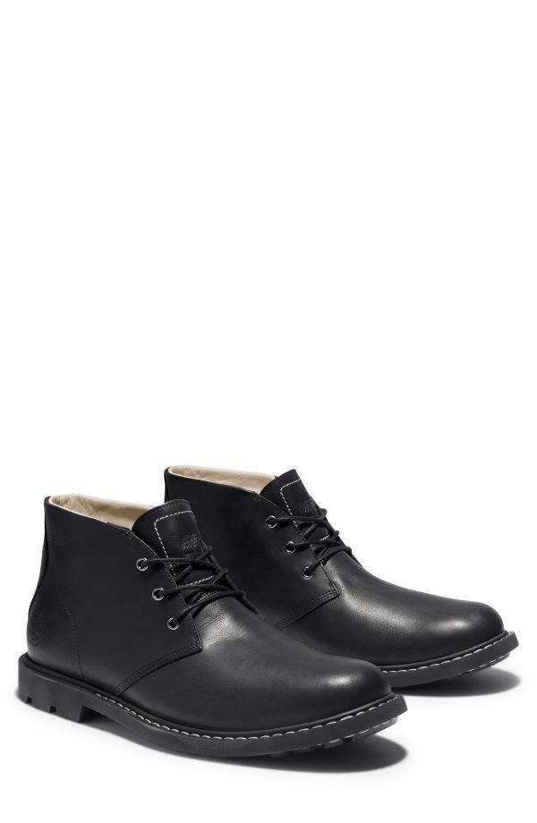Men's Timberland Belanger Waterproof Chukka Boot, Size 7 M - Black