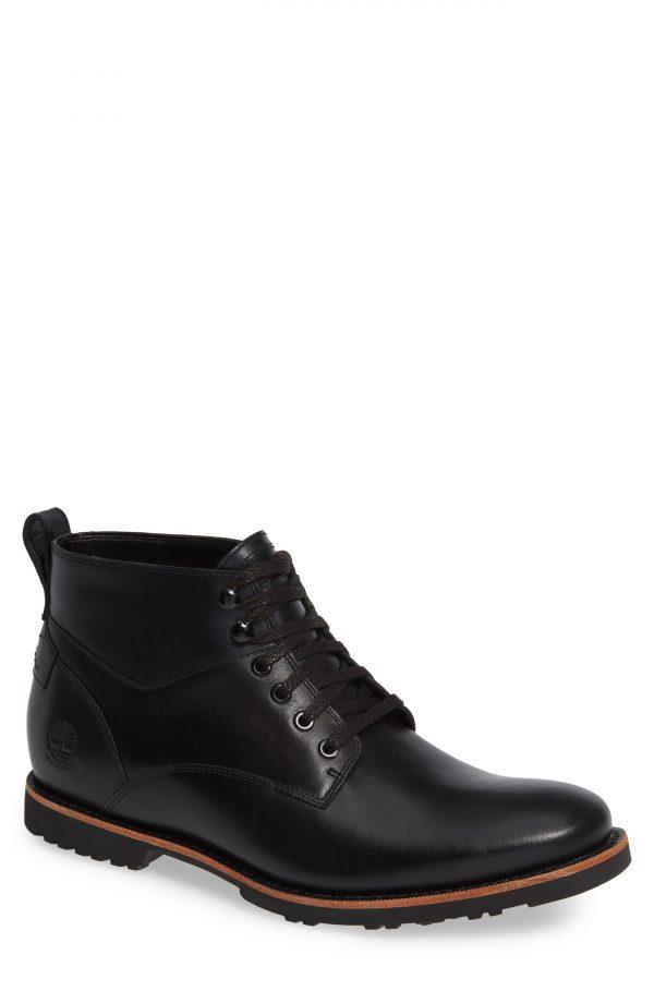 Men's Timberland Kendrick Waterproof Chukka Boot, Size 7.5 M - Black