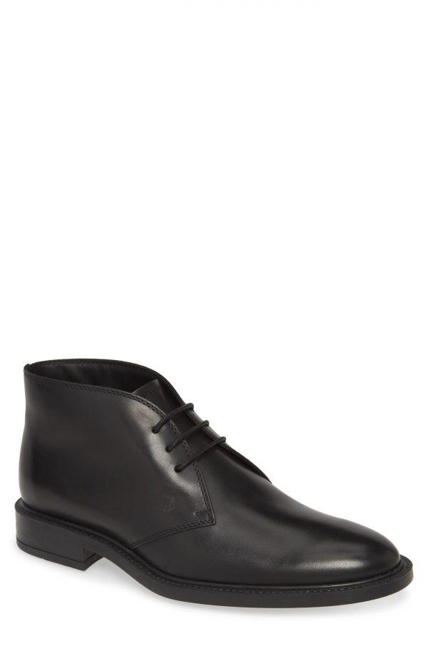 Men's Tod's Polacco Chukka Boot, Size 8US - Black