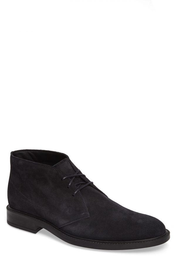Men's Tod's Polacco Chukka Boot, Size 8US - Blue