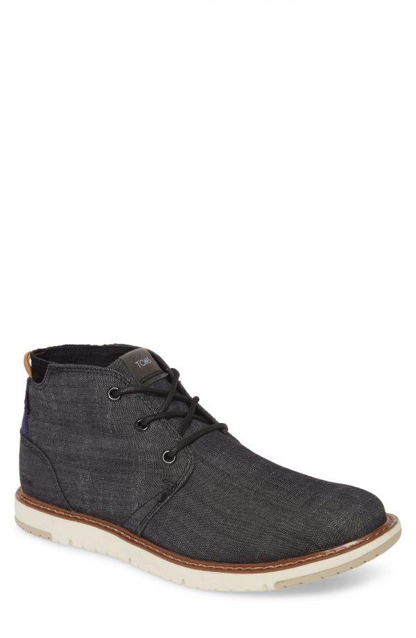 Men's Toms Navi Chukka Boot, Size 7 D