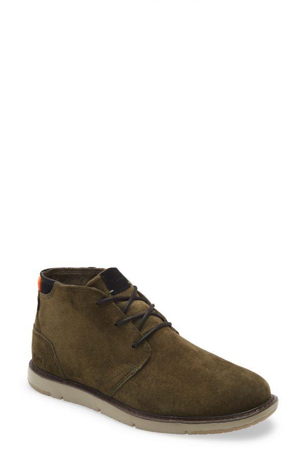 Men's Toms Navi Chukka Boot, Size 8.5 D - Green