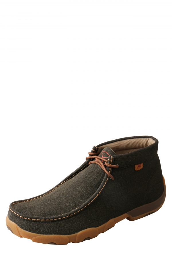Men's Twisted X Chukka Driving Boot, Size 7 M - Black