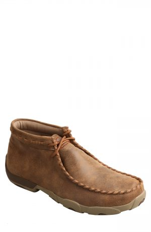 Men's Twisted X Chukka Driving Boot, Size 7 M - Brown
