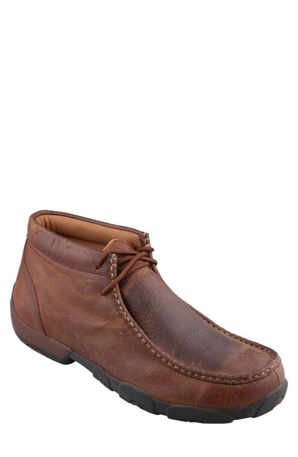 Men's Twisted X Chukka Driving Boot, Size 7 W - Brown