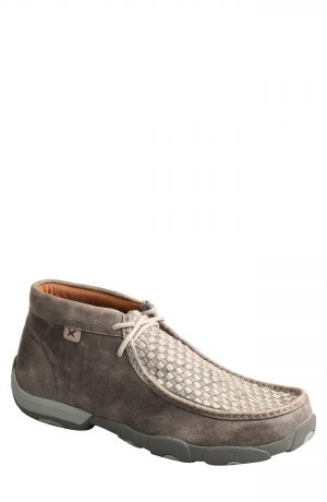 Men's Twisted X Chukka Driving Boot, Size 7 W - Grey