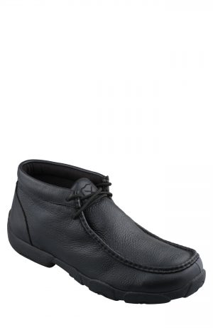 Men's Twisted X Chukka Driving Boot, Size 7.5 M - Black