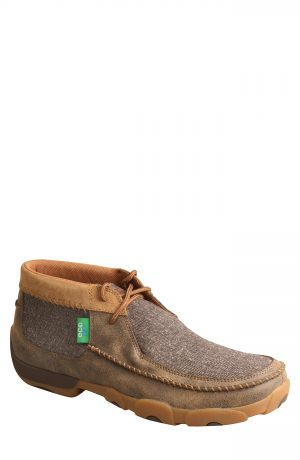 Men's Twisted X Chukka Driving Boot, Size 7.5 M - Brown
