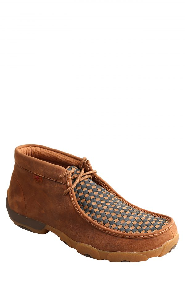 Men's Twisted X Chukka Driving Boot, Size 7.5 W - Brown