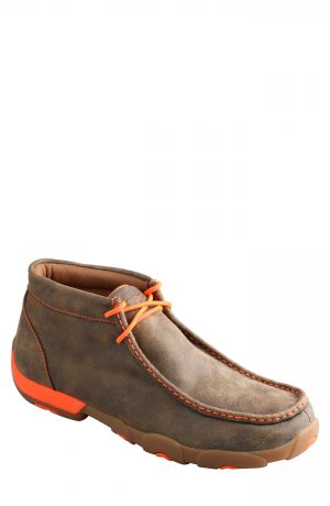 Men's Twisted X Chukka Driving Boot, Size 8 W - Brown