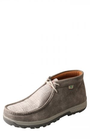 Men's Twisted X Chukka Driving Boot, Size 8 W - Grey