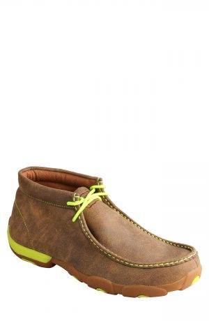 Men's Twisted X Chukka Driving Boot, Size 8.5 M - Brown