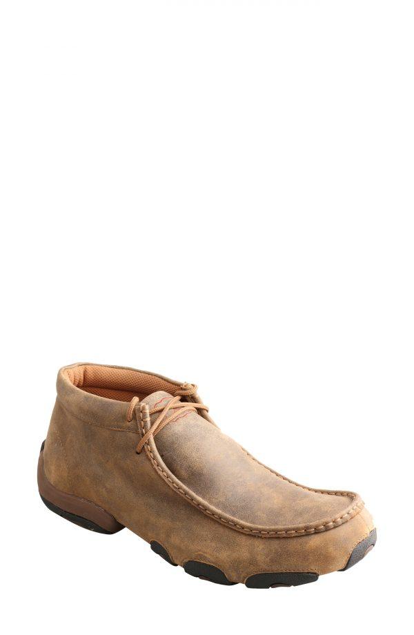 Men's Twisted X Original Driving Moc Chukka Boot, Size 7 W - Brown