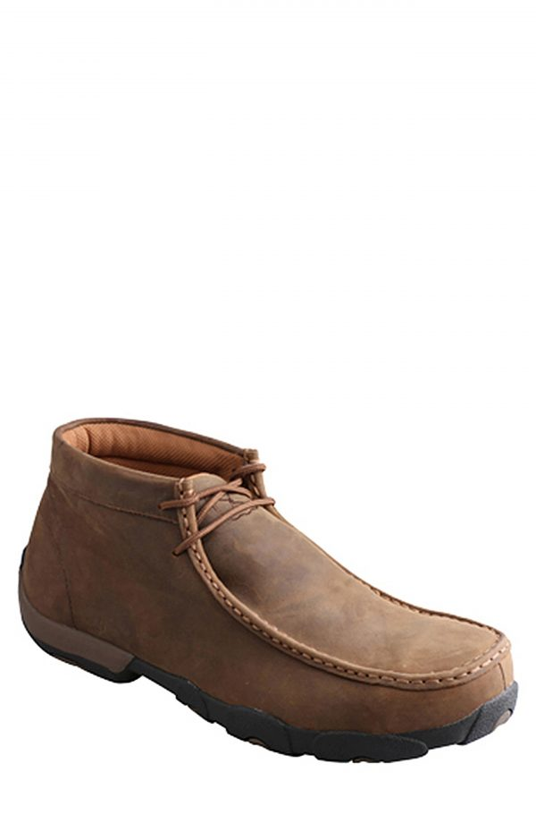Men's Twisted X Waterproof Chukka Boot, Size 7 M - Brown