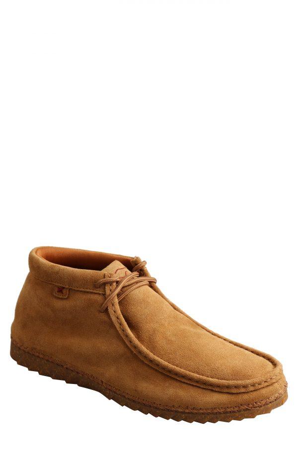 Men's Twisted X Zero-X(TM) Moc Toe Chukka Boot, Size 7 M - Brown