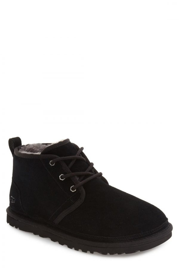Men's UGG Neumel Chukka Boot, Size 5 M - Black