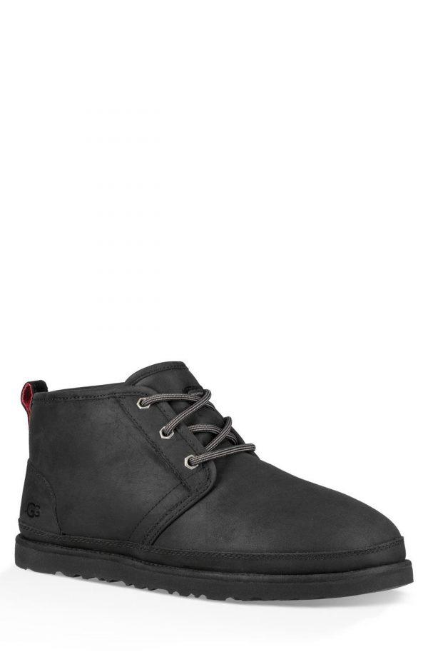Men's UGG Neumel Waterproof Chukka Boot, Size 6 M - Black