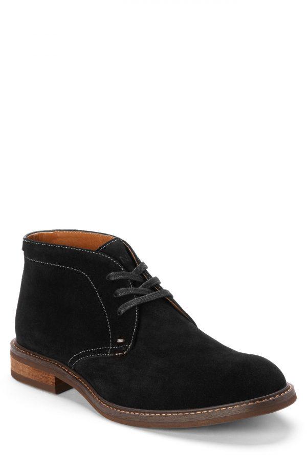 Men's Vionic Chase Waterproof Chukka Boot, Size 7 M - Black