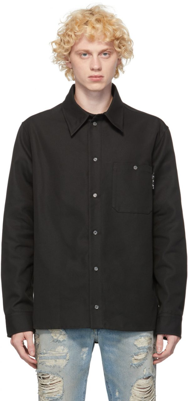 Off-White Black Logo Work Shirt