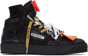 Off-White Black Off Court 3.0 High-Top Sneakers